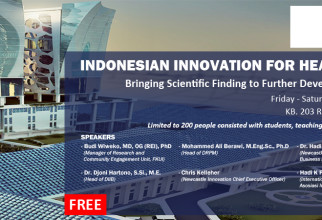 [Agenda] Indonesian Innovation for Health (IIH) Workshop