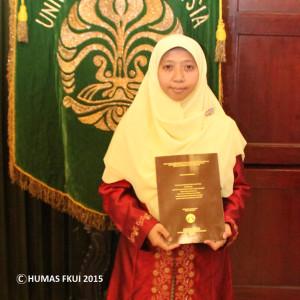 Promosi Doktor Robiatul Adhawiyah