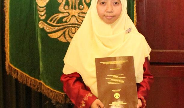 Promosi Doktor Robiatul Adawiyah