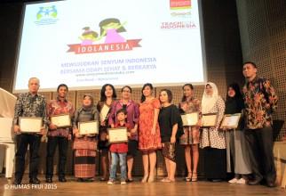 Laboratorium Terpadu FKUI Raih Idolanesia Award 2015