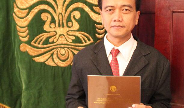 Promosi Doktor Ahmad Wibisana