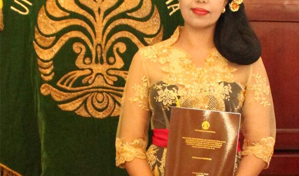 Promosi Doktor Dyah Kanya Dewi