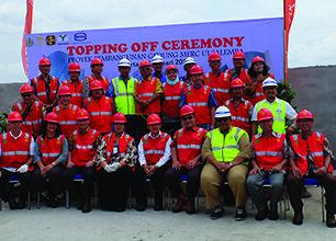 `Topping Off` Pembangunan Gedung MERC-UI