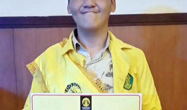Stefanus Imanuel Setiawan, Mahasiswa Berprestasi Rumpun Ilmu Kesehatan UI 2016