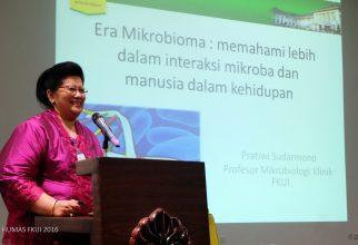Kuliah Umum Guru Besar: Mikrobioma dalam Tubuh, Kawan atau Lawan?