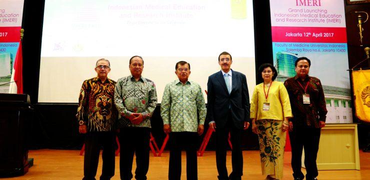 Wakil Presiden RI Jusuf Kalla Resmikan IMERI-FKUI