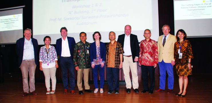 FKUI-Dutch Foundation Gelar Simposium dan Workshop Transplantasi Ginjal