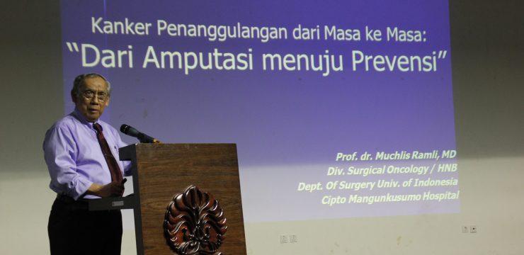 Kuliah Umum Guru Besar FKUI: Deteksi Dini sebagai Langkah Awal Pencegahan Kanker