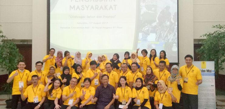 Program Pengabdian kepada Masyarakat, Mahasiswa S3 FKUI Berikan Penyuluhan Olahraga