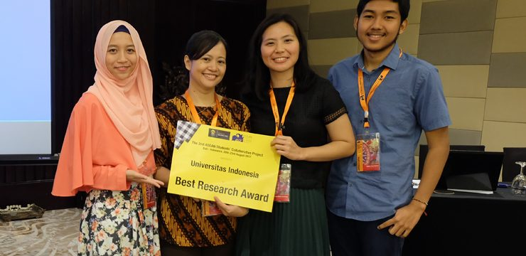 Mahasiswa FKUI Raih Best Project Research Award