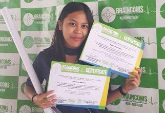 Presentasi Poster di Brazil, Mahasiswi FKUI Raih Dua Penghargaan