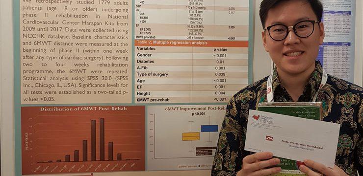 Teliti Program Rehabilitasi Jantung, Mahasiswa PPDS FKUI Toreh Prestasi di Singapura