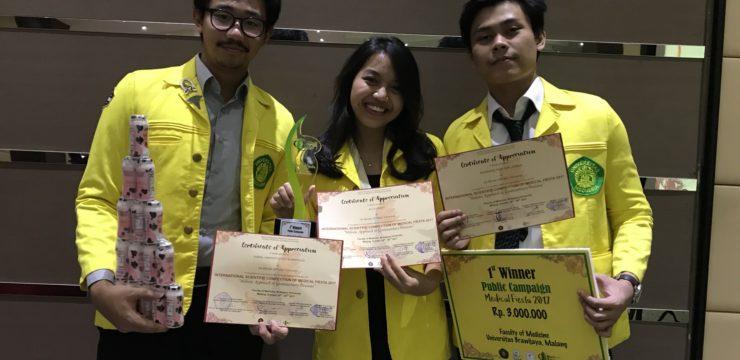 Kampanye Publik Karya Mahasiswa FKUI Raih Juara di Medical Fiesta 2017