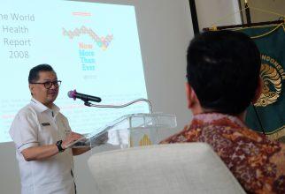 Kuliah Tamu: Kadinkes Paparkan Program Pelayanan Kesehatan di DKI Jakarta