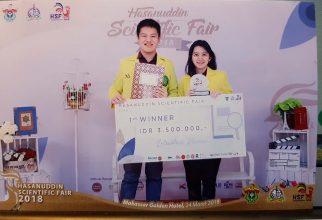 Penelitian Mahasiswa FKUI tentang Pencegahan Katarak Raih Penghargaan di Makassar