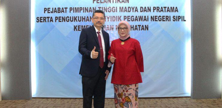 Menkes Lantik Lies Dina Liastuti sebagai Direktur Utama RSCM
