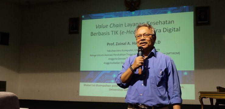 Kuliah Umum Guru Besar: Value Chain Layanan Kesehatan Berbasis TIK (e-Health) di Era Digital