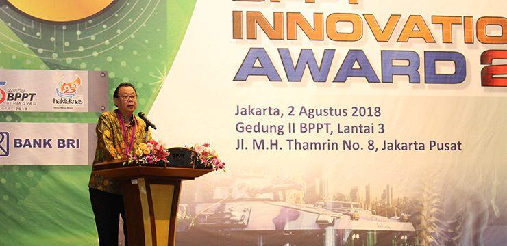 Dosen FKUI Raih Penghargaan BPPT Innovation Award 2018