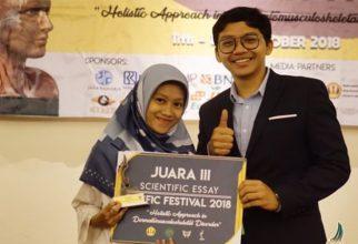 Mahasiswa FKUI Ukir Prestasi di Pasific Fest 2018
