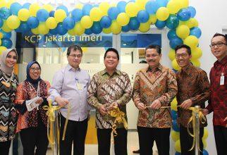 Peresmian Kantor Bank Mandiri Cabang Pembantu Jakarta IMERI