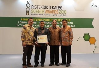 Peneliti FKUI Raih Ristekdikti Kalbe Science Awards 2018