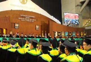 Rektor UI Wisuda 3.950 Mahasiswa