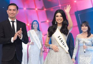Elisa Jonathan won the 1st runner up Miss Indonesia 2019