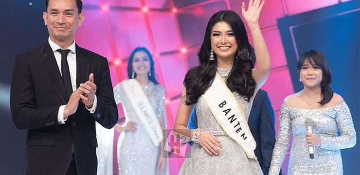 Elisa Jonathan won the 1st runner up Miss Indonesia 2019