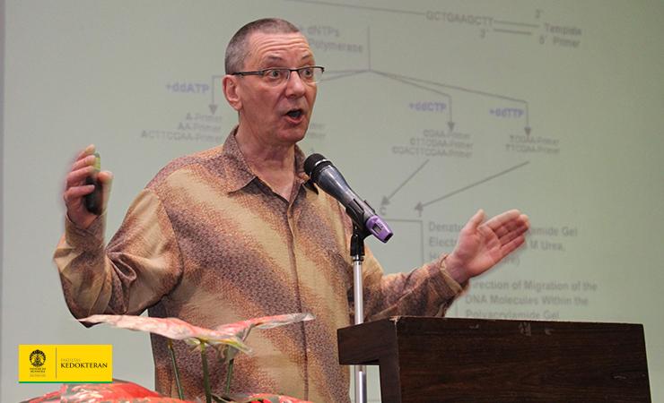Prof. Dr. Hans-Jurgen Magert Berikan Kuliah Umum kepada Mahasiswa FKUI