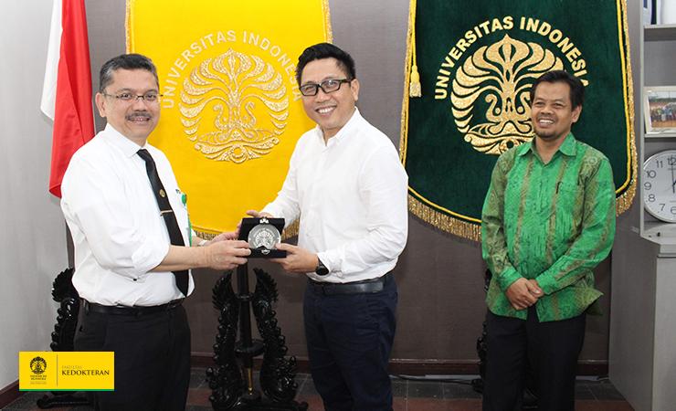 Dekan FKUI Menerima Kunjungan Delegasi UIN Raden Fatah Palembang
