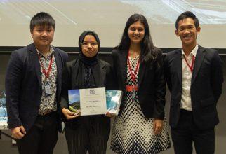 Mahasiswi FKUI Raih Penghargaan di Singapura