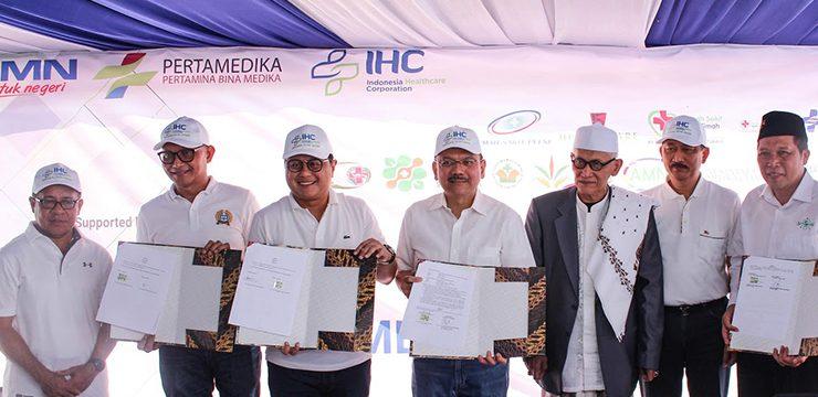FMUI Sign Partnership with PT. Pertamina Bina Medika