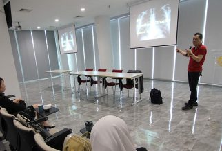 FMUI managed a public lecture with a tuberculosis vaccine expert from Japan