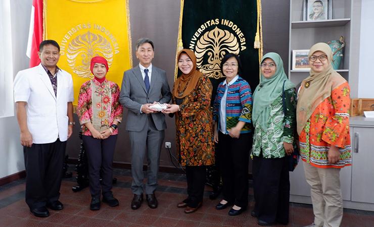 Kunjungan dari University of Tsukuba Jepang