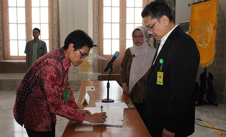 Prasandhya Astagiri Yusuf, S.Si., MT., Ph.D dilantik Menjadi Ketua Departemen Fisika Kedokteran FKUI