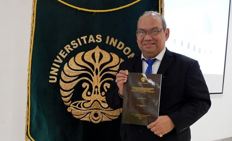 Promosi Doktor Hanif G. Tobing