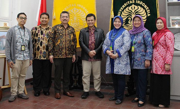 Diskusi Tentang Penyusunan Renstra FKUI oleh Deputi Kemenpan