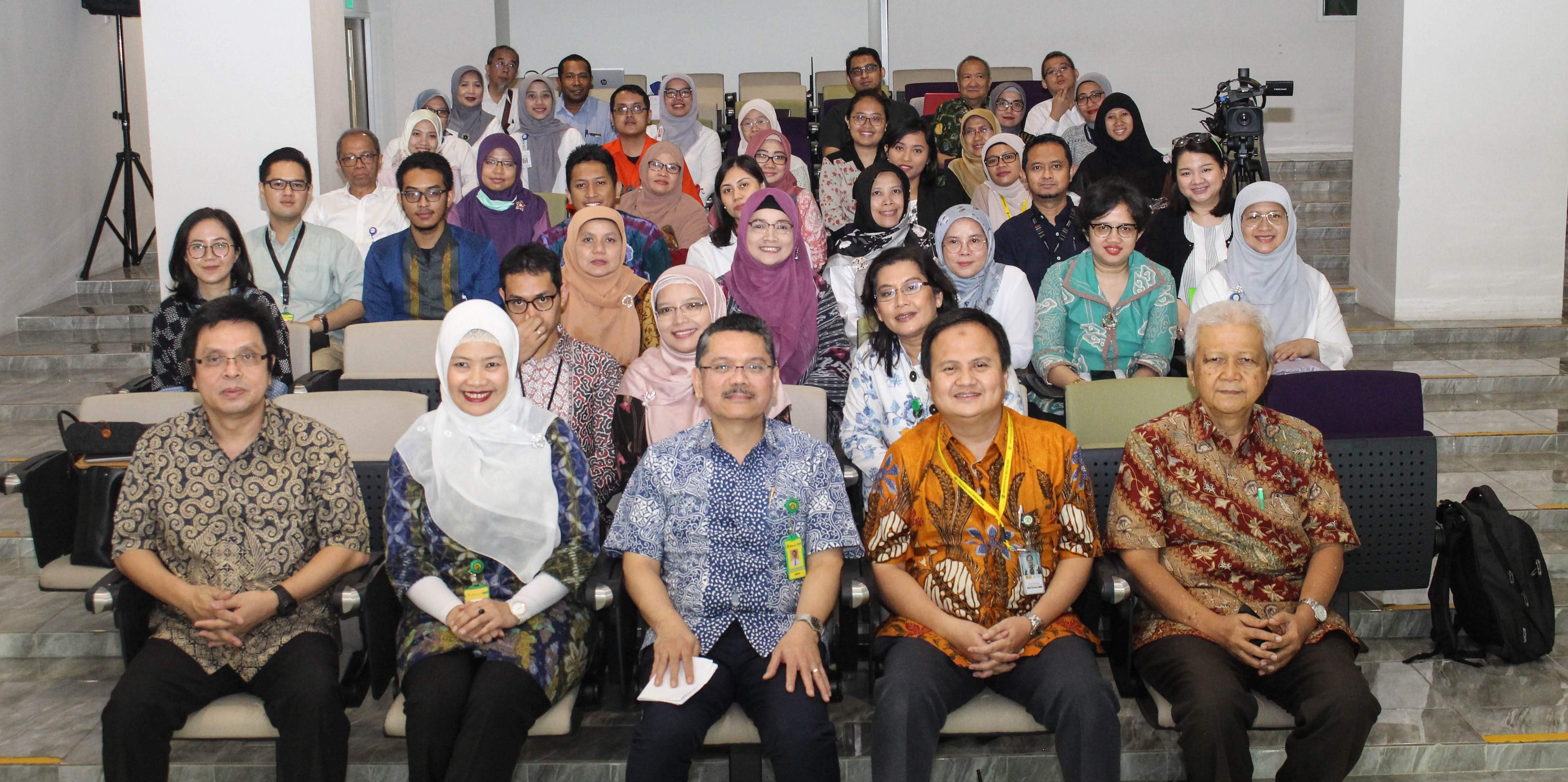 Workshop Kurikulum Program Pendidikan Dokter FKUI Masa Depan dan Revolusi Industri 4.0