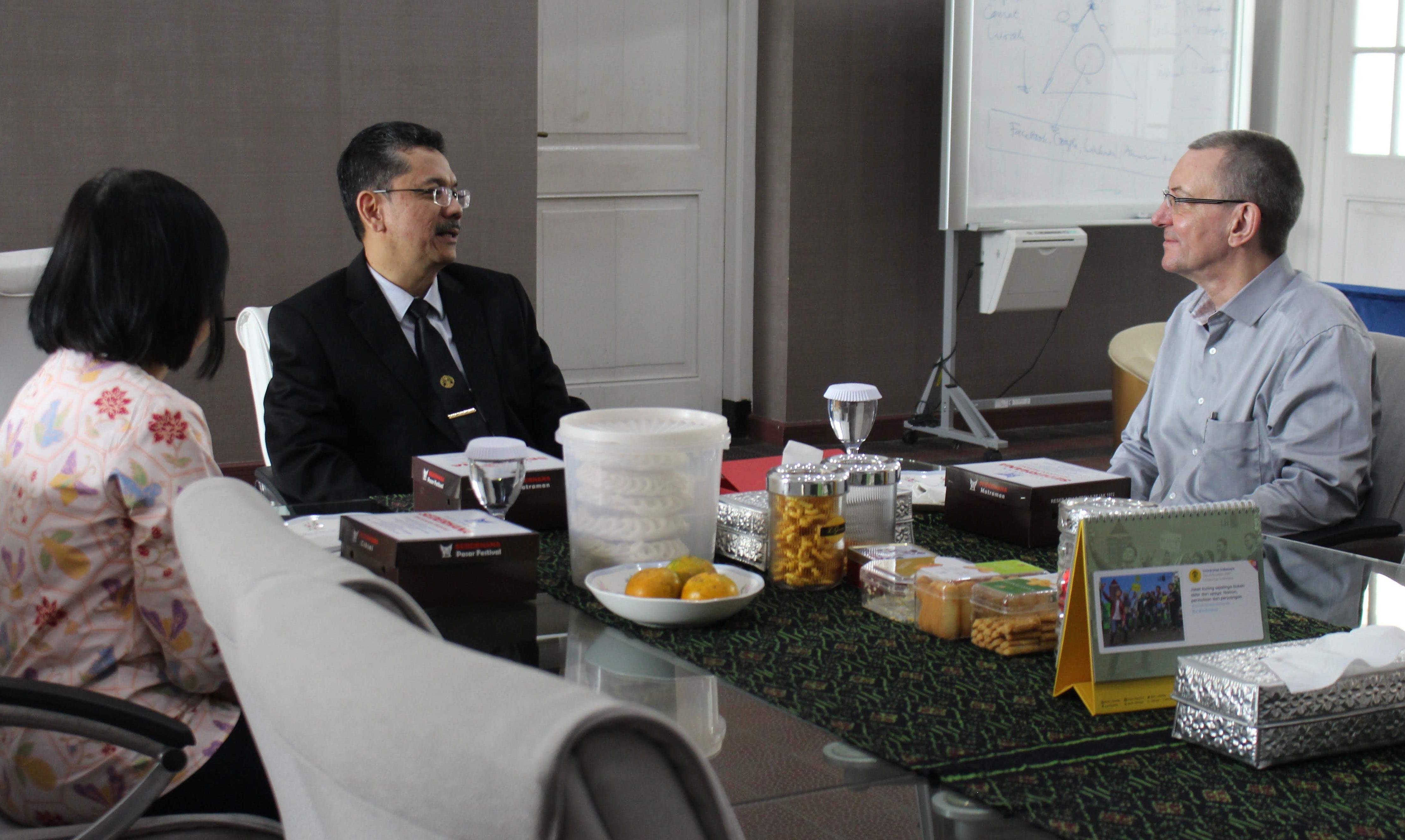 Pertemuann dengan Prof. Magert dan dr. Ina