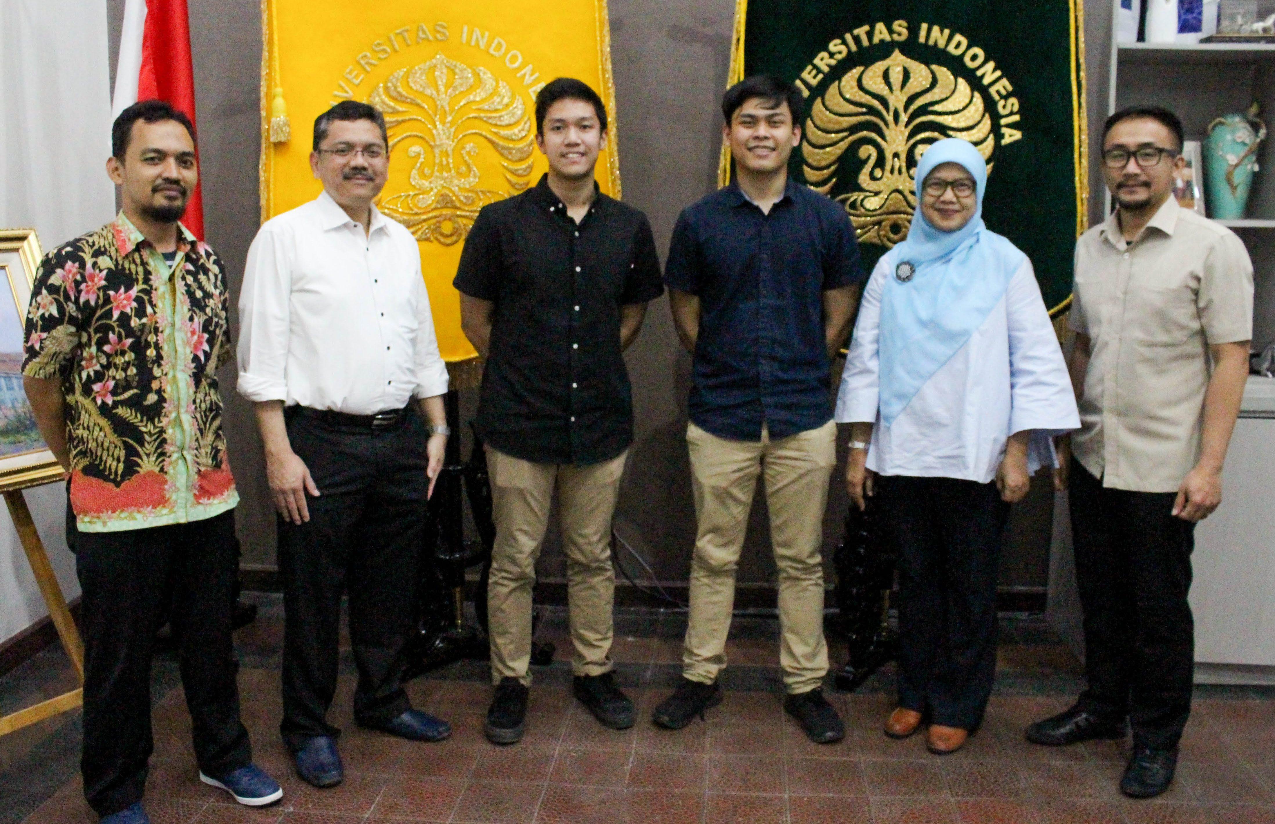 Pertemuan dengan Mahasiswan Berprestasi FKUI