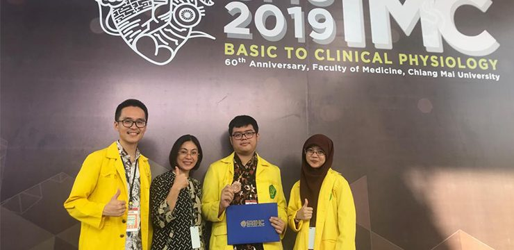 FMUI Students Swept Up Bronze Medal in Thailand
