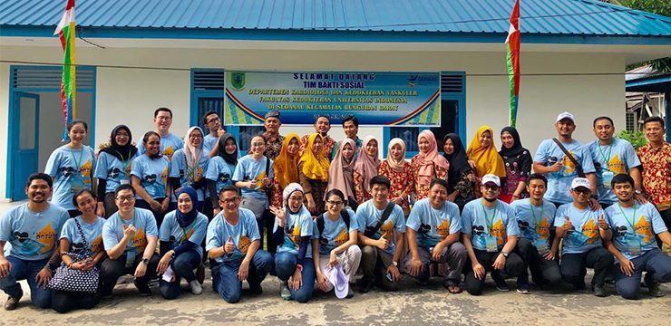 FMUI Underwent Cardiovascular Social Service and Research in Natuna