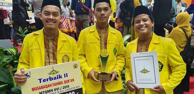 Tim Mahasiswa UI Raih Juara pada Ajang MTQMN XVI