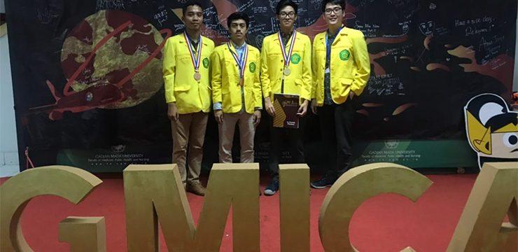 Tim Mahasiswa FKUI Ukir Prestasi di Ajang Gadjah Mada International Competition of Anatomy 2019