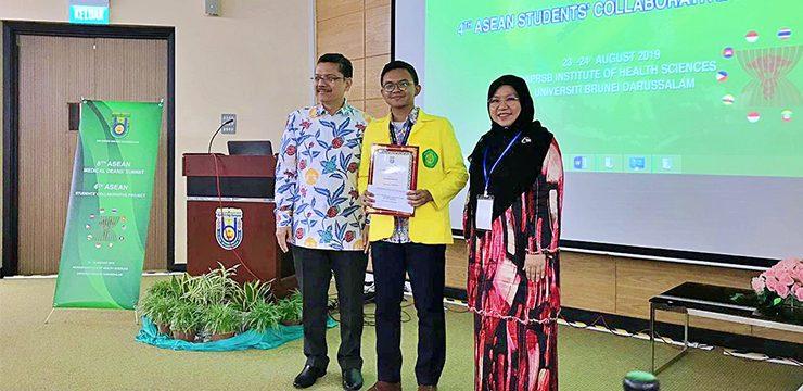 Mahasiswa FKUI Raih Best Oral Presentation di Ajang The 4th ASEAN Student Collaborrative Project