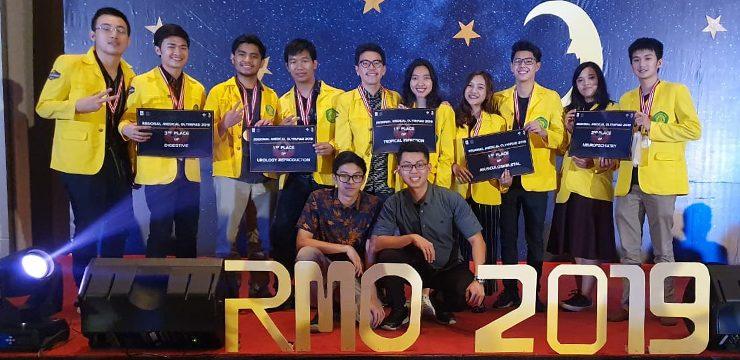 Tim Mahasiswa FKUI Sabet Lima Gelar Juara di Ajang Regional Medical Olympiad 2019