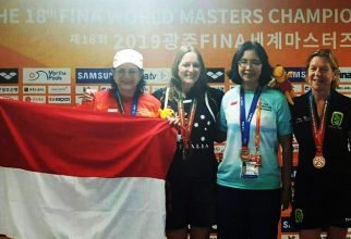 A lecturer from FMUI won a world swimming championship