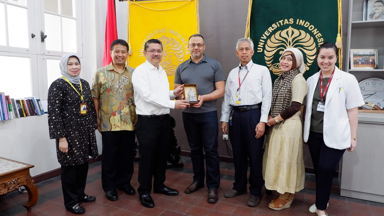 Pertemuan dengan Prof Universitas Mannitoba dan Dr. Willem A Dik
