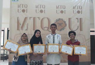 Tim Mahasiswa FKUI Borong Penghargaan di Ajang MTQ UI 2019