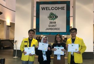 Tim Mahasiswa UI Kembali Raih Emas di Ajang iGEM 2019